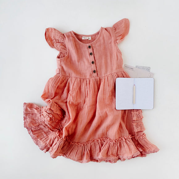 ruffle dress - Ren & Rouge