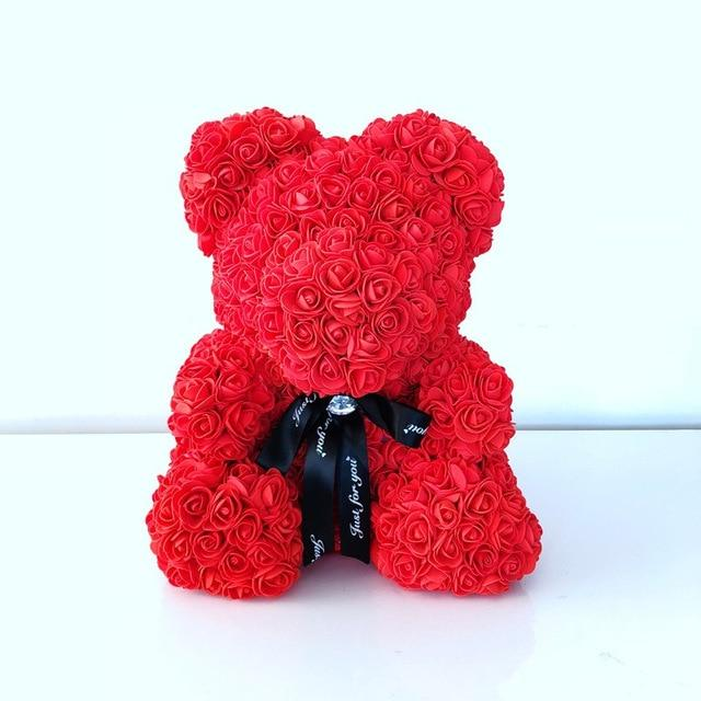 Handmade Teddy Bear Rose Whooop It