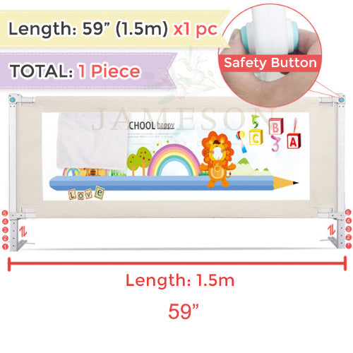 Adjustable Baby Toddler Bed SAFETY Fence Guard infant kids Playpen Gate Crib Security Children bedside Rail Guard