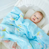 Muslin Swaddles Rayon Bamboo & Cotton (INCREDIBLY soft texture perfect for baby's sensitive skin)