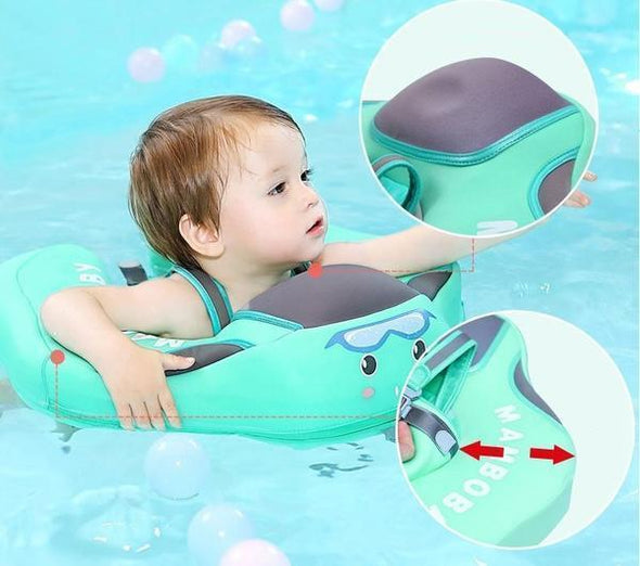 *2019 UPGRADE* Safety Baby Swimming Trainer - Water Ring Float (4 Months - 2 Years)