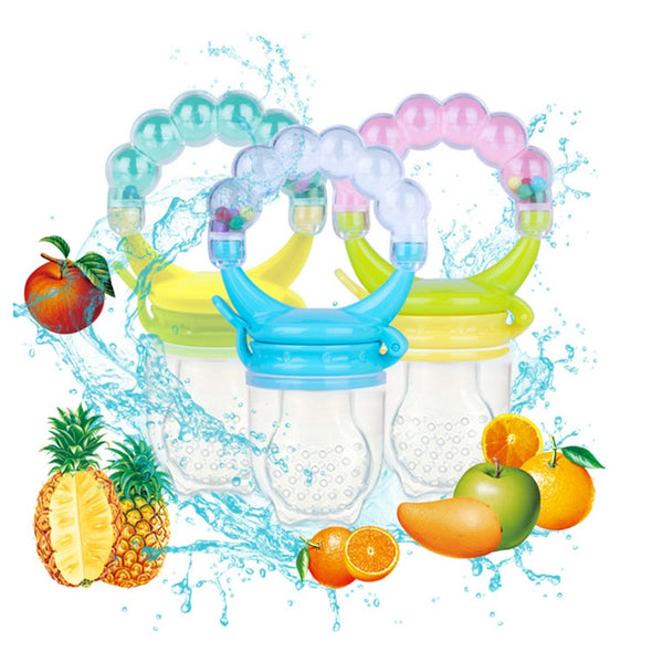 1 Piece of 3-In-1 Fruit Food Pacifier (Safely Introduce solid food) / TEETHER / RATTLING Toy