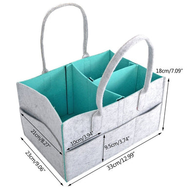 Easy Access Diaper Changing Caddy Organizer, Perfect for Home or Travel