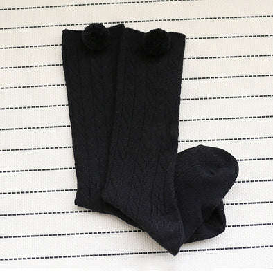 Charming Knee High Cotton Baby Toddler Socks