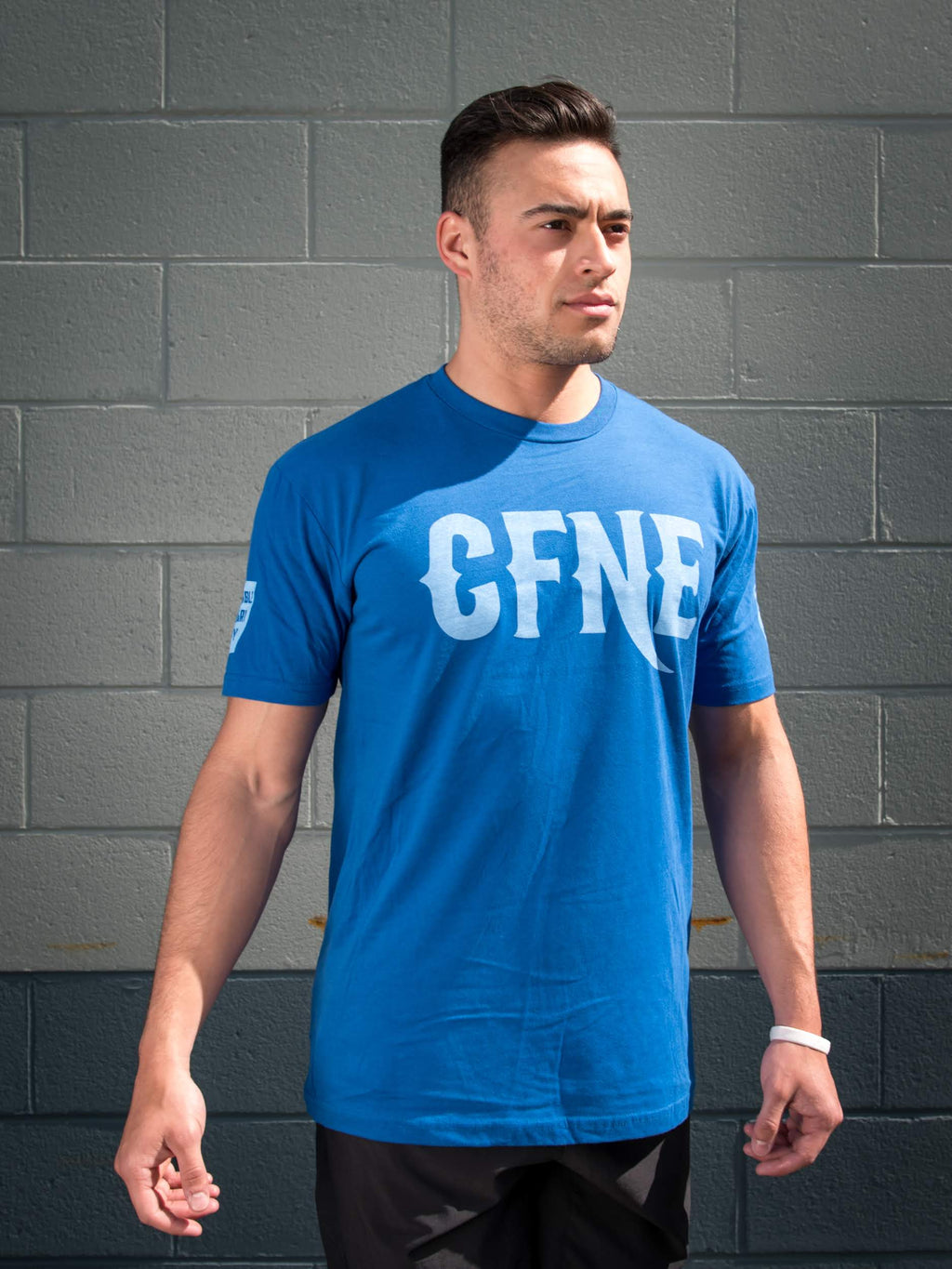 CFNE Men's T-Shirt - Royal Blue