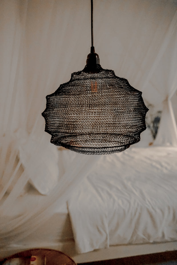 WIRE LAMP DYLAN BLACK - Monnarita - Handmade products