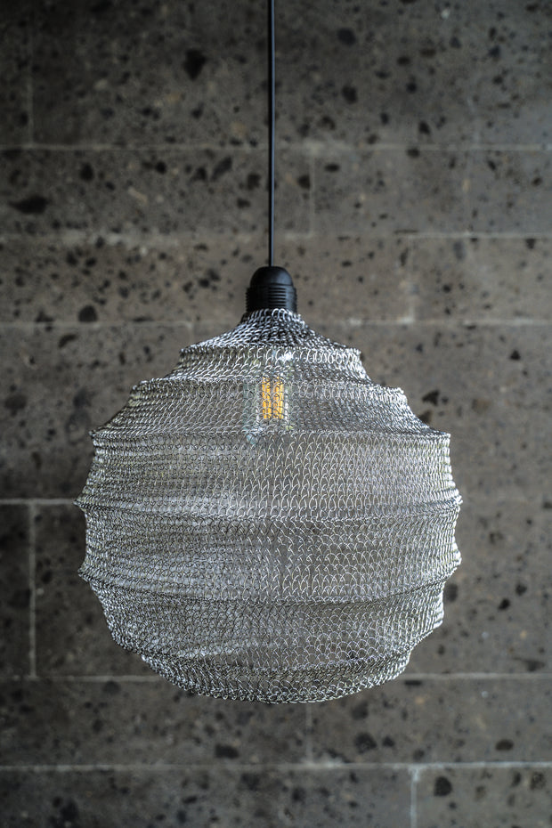 WIRE LAMP DYLAN SILVER - Monnarita - Handmade products