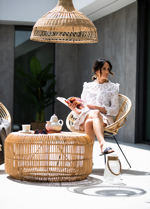 RATTAN TABLE FITO - Monnarita - Handmade products
