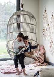 RATTAN HANGING CHAIR ERIS - Monnarita - Handmade products
