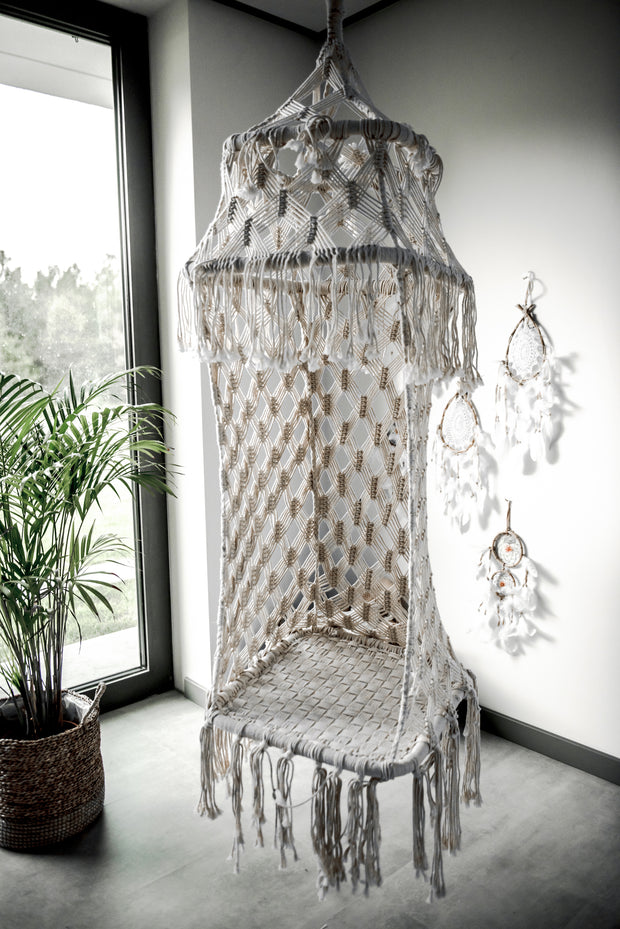 HANGING CHAIR MACRAME CALVIN - Monnarita - Handmade products