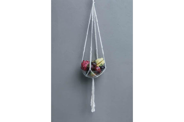 SINGLE MACRAME FLOWERER BED - Monnarita - Handmade products
