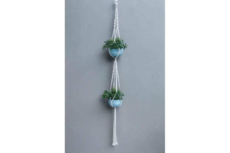 DOUBLE FLOWERER BED MACRAME - Monnarita - Handmade products