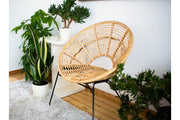 RATTAN CHAIR AVA - Monnarita - Handmade products