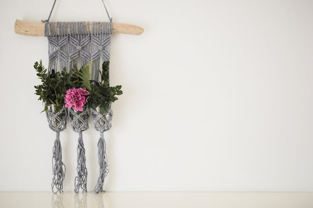 MACRAME WALL FLOWER BED 3 - Monnarita - Handmade products