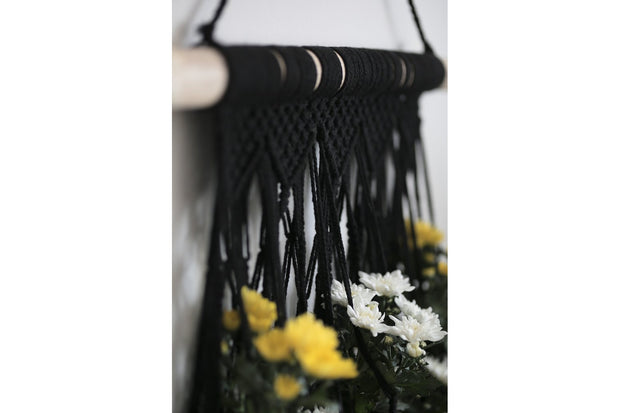 MACRAME FLOWERER BED FOR 5 PLANTS - Monnarita - Handmade products