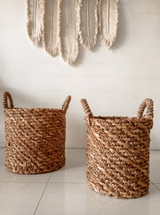 WATER HYACINTH BASKETS ZORRIA - Monnarita - Handmade products