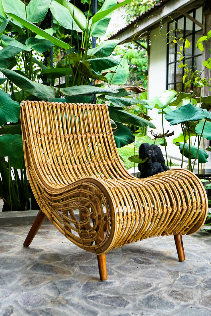RATTAN CHAIR KABA - Monnarita - Handmade products