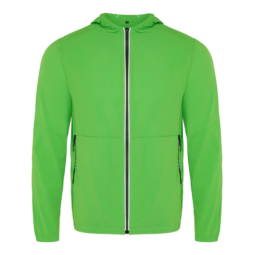 GREEN LIGHTWEIGHT WINDBREAKER