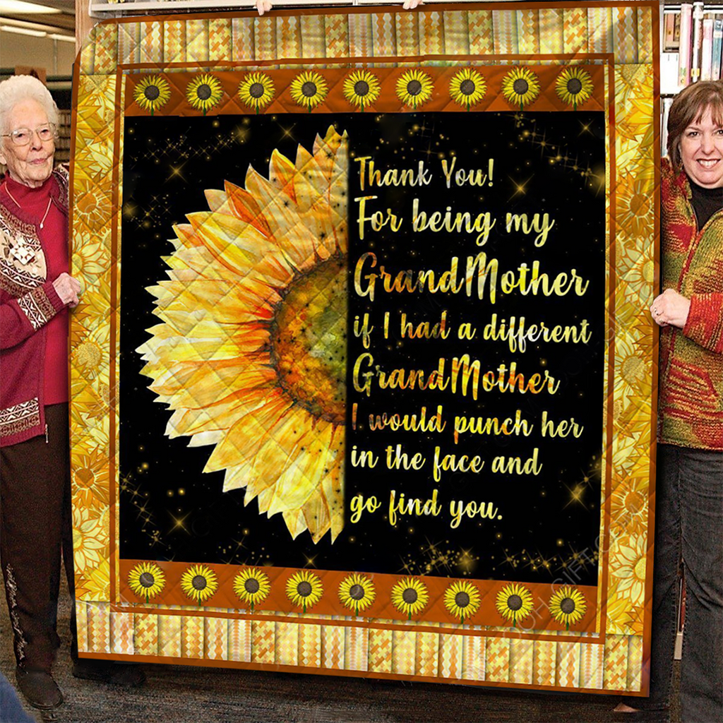 Thank You My Grandma - Quilt