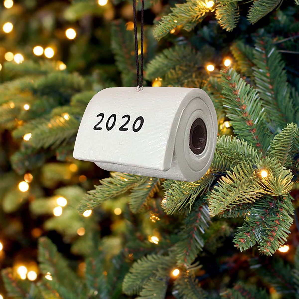 Toilet Paper Crisis 2020 Ornament - Funny Christmas Ornament