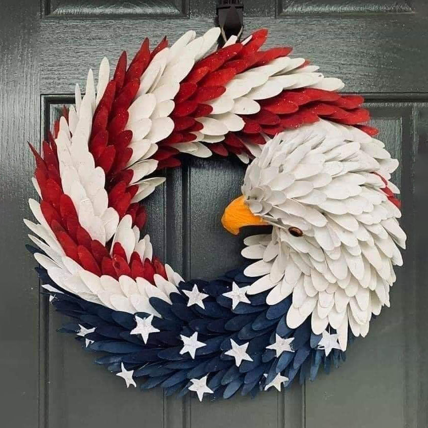American Eagle Wreath