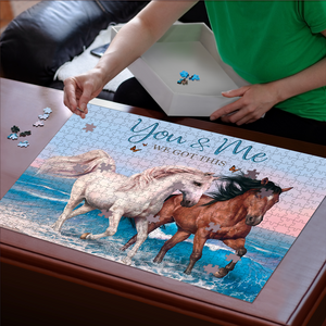 PREMIUM WOODEN PUZZLE - You&Me We Got This