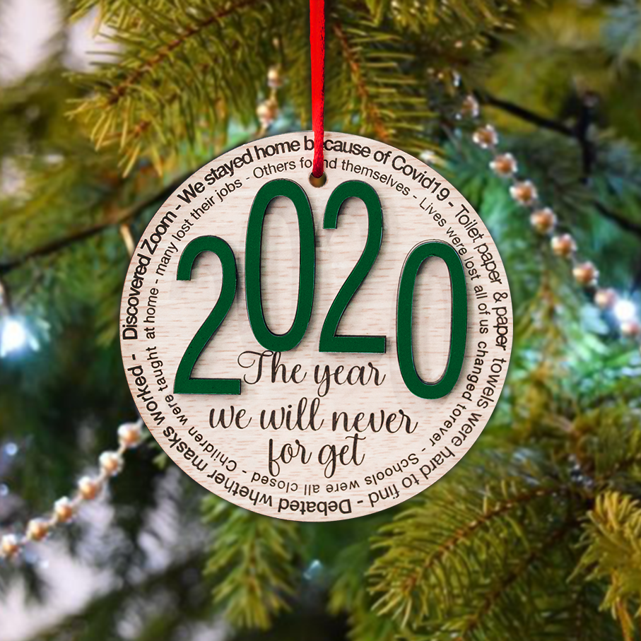 2020 Christmas Ornament