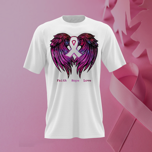 Power Pink Breast Cancer Awareness - T Shirt