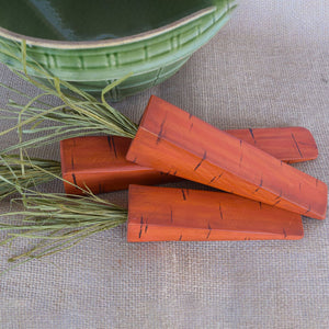 Primitive Wooden Carrots - Rustic Decor for Easter