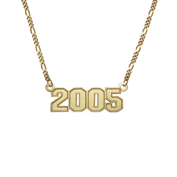 The 3D Year Necklace