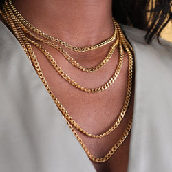 Naked Cuban Necklace