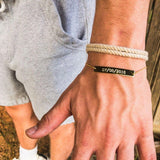 Engraved Jewelry - Engraved Bar Bracelet
