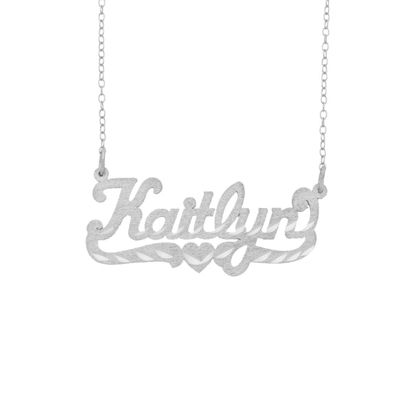 Name Necklace - Diamond Cut Name Necklace