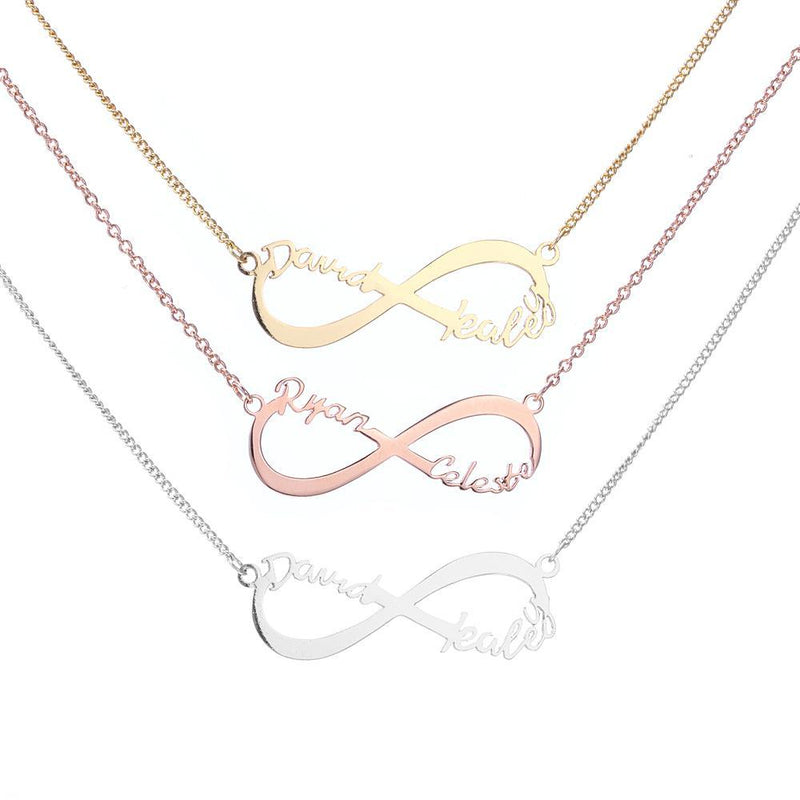 Name Necklace - Infinity Name Necklace