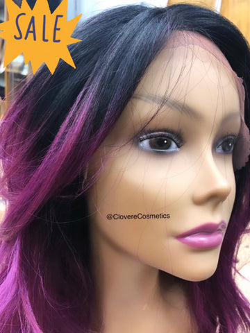 "Luxury ""Purple Haze"" Wig"