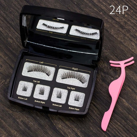 Handmade 3D Magnetic Eyelashes (4part)
