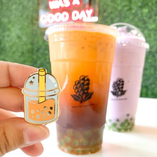 Boba Tea Pins
