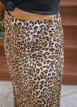 Savanna Camouflage Maxi Skirt