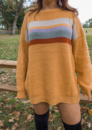 Citrine Knit Sweater