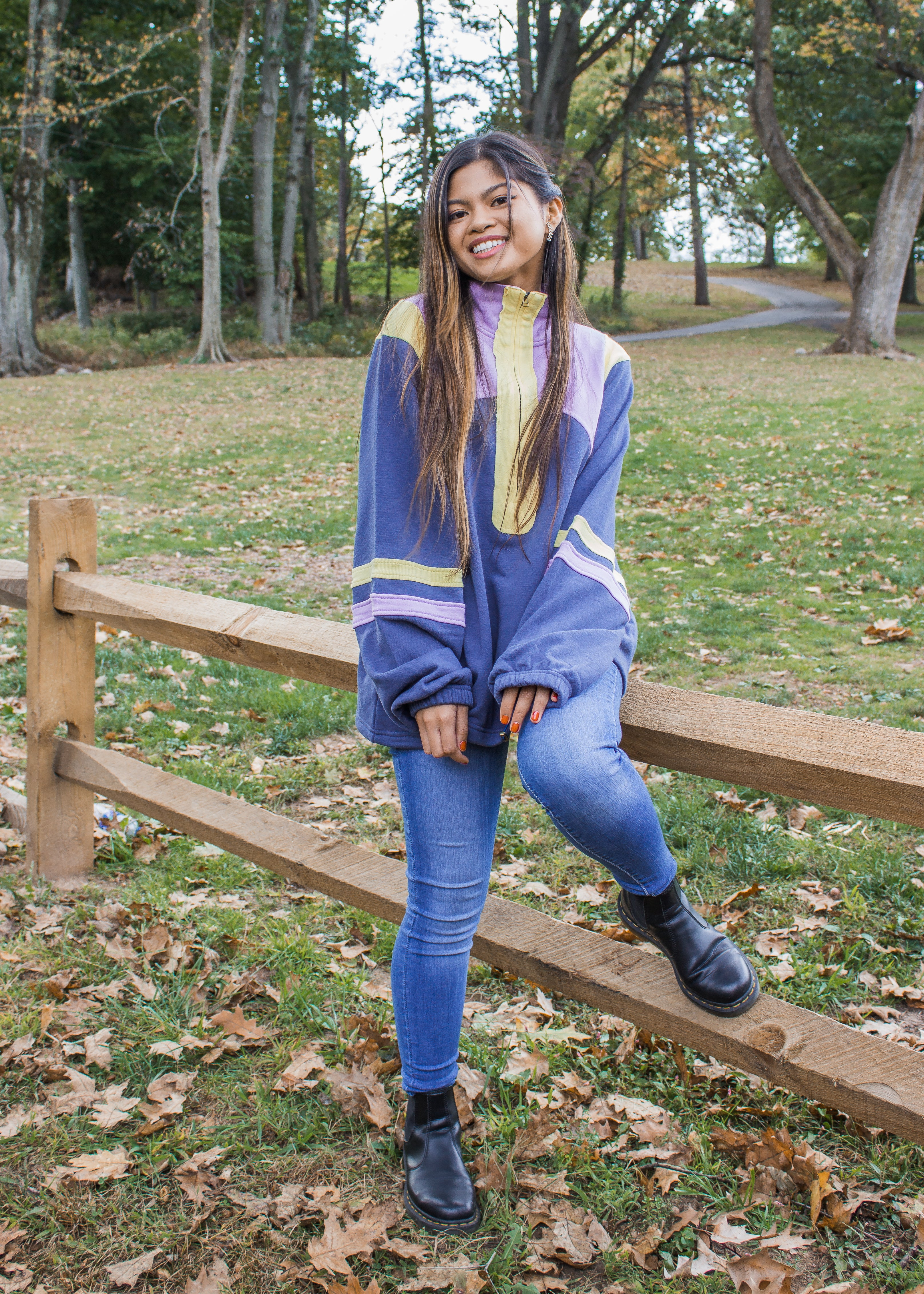 Daphne Zipped Pullover