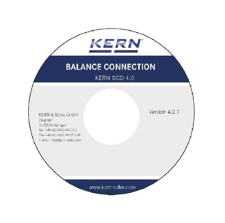 Kern Software BalanceConnection - Feuchtebestimmershop