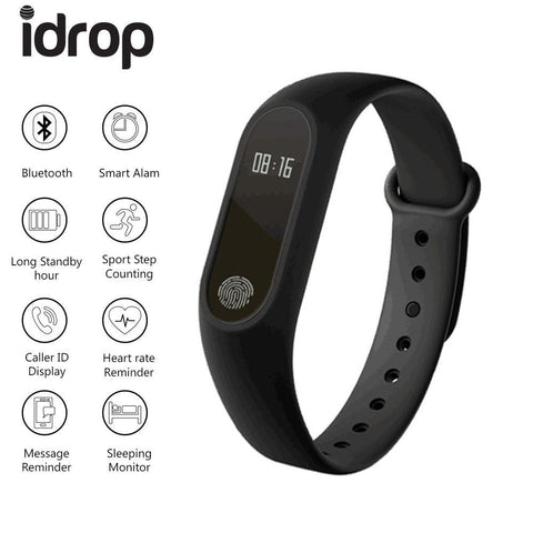 M2 Hot Bracelet Intelligent Wristband 0,42 '' OLED Bluetooth 4.0 Activité Tracker Podomètre Fréquence Cardiaque Fitness Tracker - omar.ma