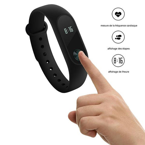 Original Xiaomi Mi Band 2 Smart Watch - omar.ma