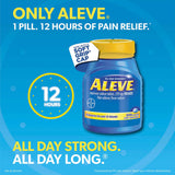 Aleve Naproxen Sodium 220 mg. Pain Reliever/Fever Reducer, 320 Caplets
