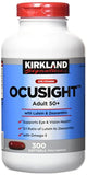 Kirkland Eye Vitamin OcuSight Adult 50+ with Lutein & Zeaxanthin, 300 softgels