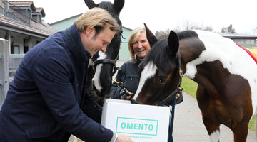 Hasenacher Stud & Farm und OMENTO Next Generation Horsefeed