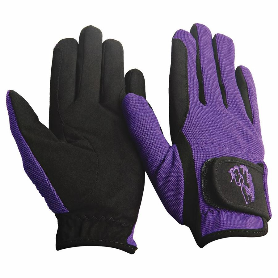 TuffRider Premium Kids Riding Gloves