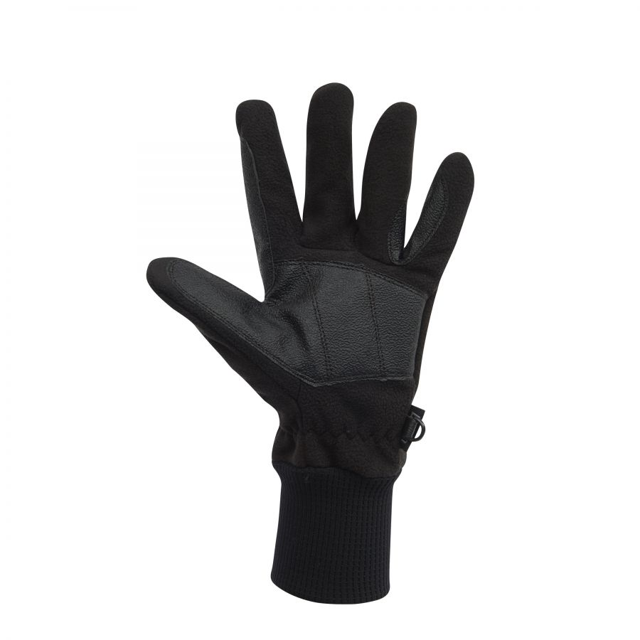Dublin Everyday Showerproof Polar Fleece Riding Gloves Black