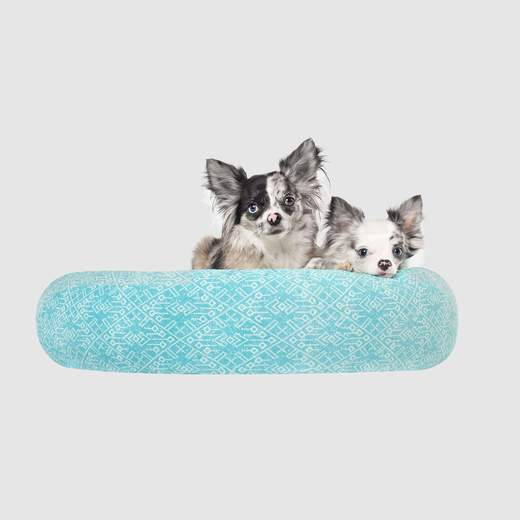 Canada Pooch Birch Bed Aqua Aztec