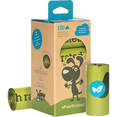 Earth Rated Poop Bags 120 Bag Refill